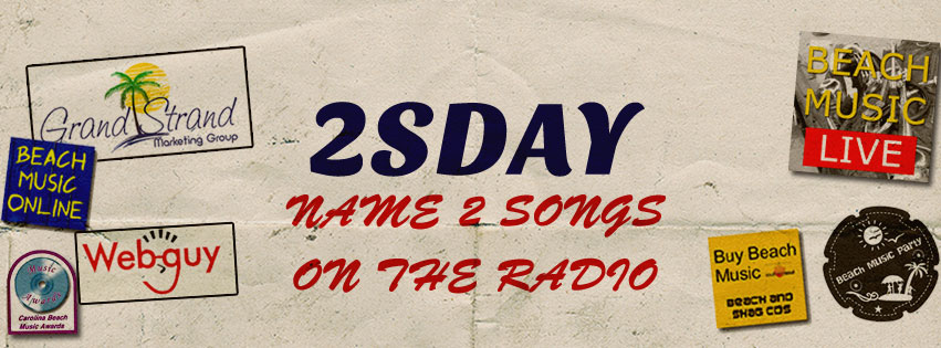 2sday on Beach Music Radio