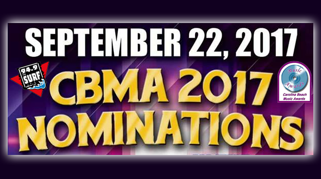 CBMA Nominations for 2017