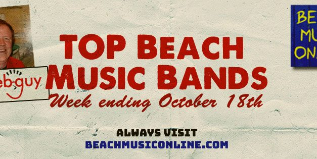 Top 20 Beach Music Bands – October 19th